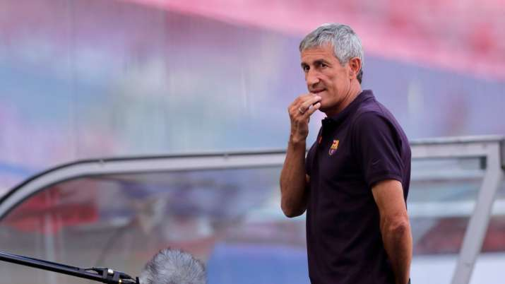 Barcelona fire coach Quique Setien three days after 8-2 loss to Bayern Munich