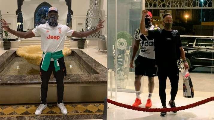 Delhi Capitals' Kagiso Rabada, while CSK duo Faf du Plessis