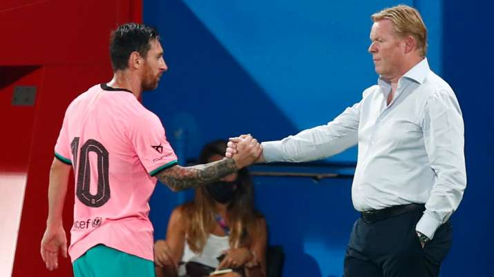 Lionel Messi nets brace in Barcelona's second friendly under Ronald Koeman; Suarez, Vidal out