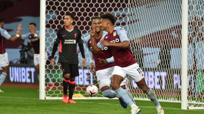 Premier League: Aston Villa thrash defending champions ...