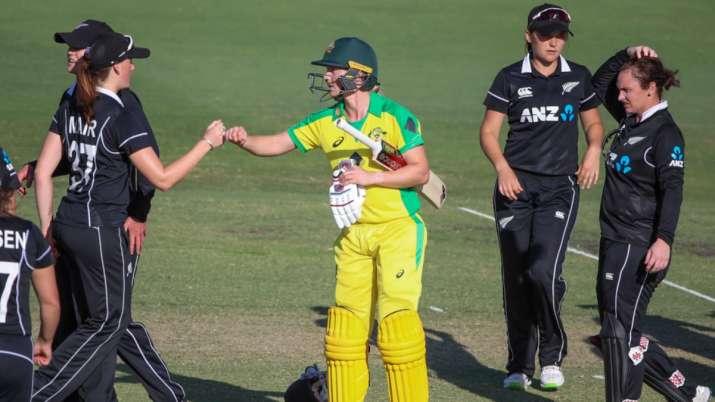 For Australia, leg-spinner Georgia Wareham (2/23) starred