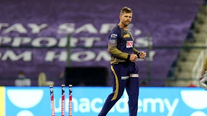 Lockie Ferguson in recently-concluded IPL 2020