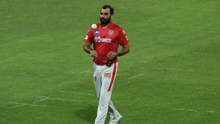 Mohammed Shami in IPL 2020