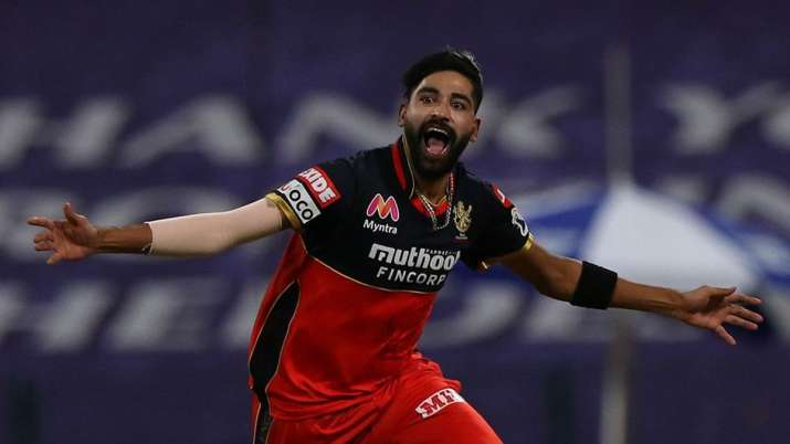 mohammad siraj, rcb, ipl 2020, indian premier league 2020