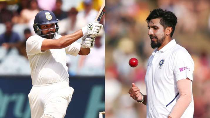 Rohit Sharma and Ishant Sharma