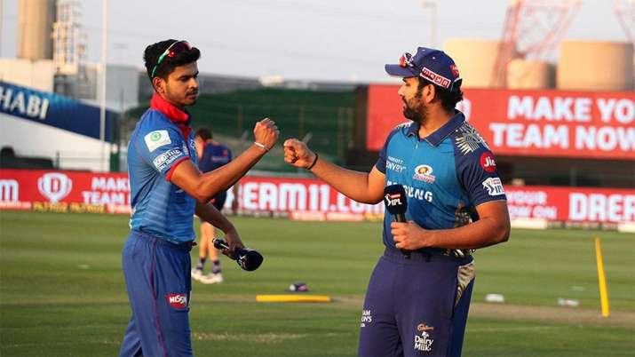 Shreyas Iyer and Rohit Sharma.