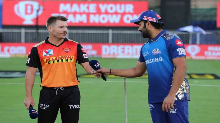 Rohit Sharma and David Warner.