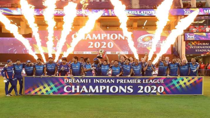 MI bag their fifth title after defeating DC in IPL 2020
