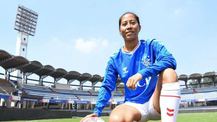 Bala recently scored her first goal for the Rangers FC in