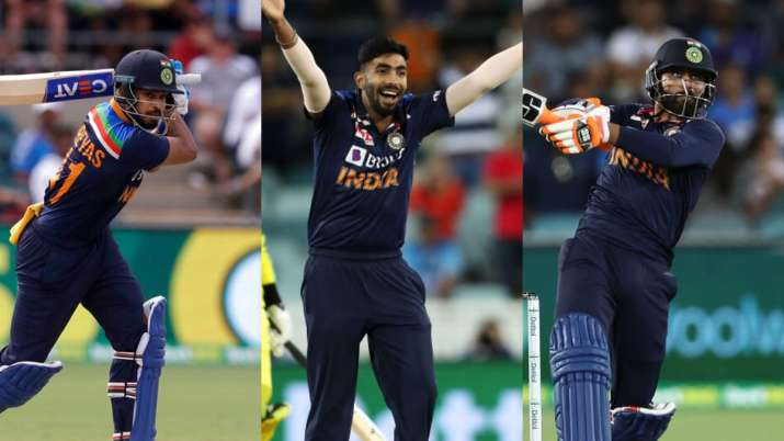 jasprit bumrah, ravindra jadeja, shreyas iyer, india vs australia, ind vs aus 2020, india vs austral