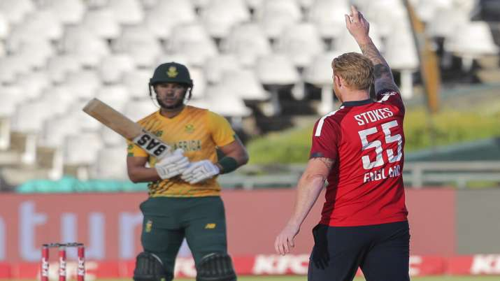 Ben Stokes against South Africa