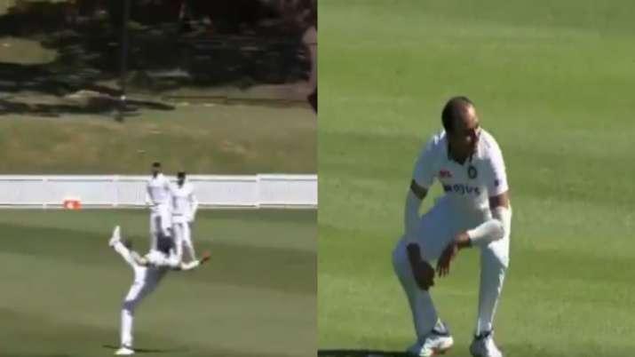 Prithvi Shaw against Australia A