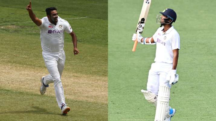 ravichandran ashwin, washington sundar, india vs australia, team india