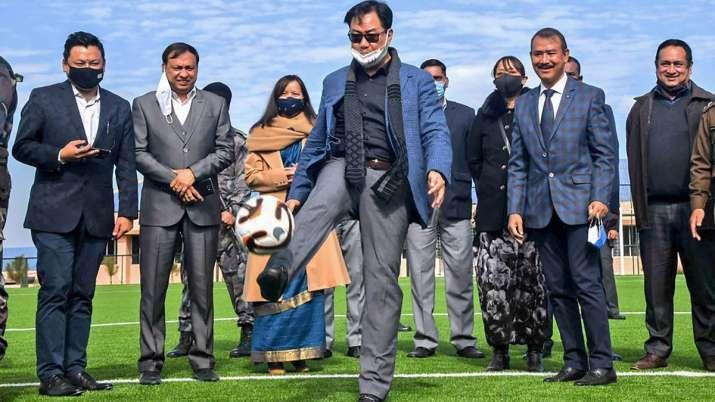 Union Sports Minister KirenRijiju