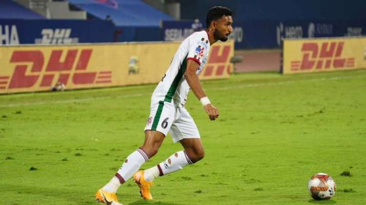 Bagan showed intent early on and opened the scoring with