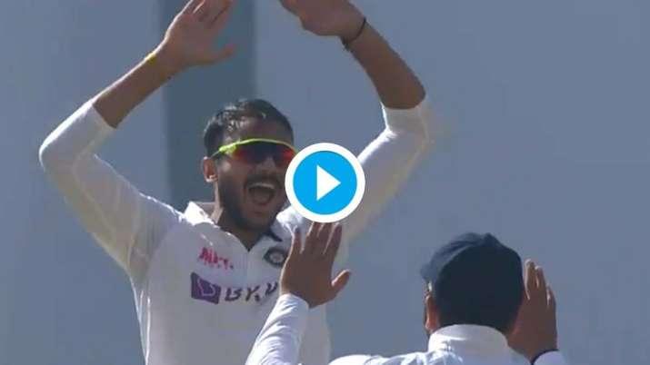 axar patel, india vs england, ind vs eng, India vs England 2021, axar patel wicket