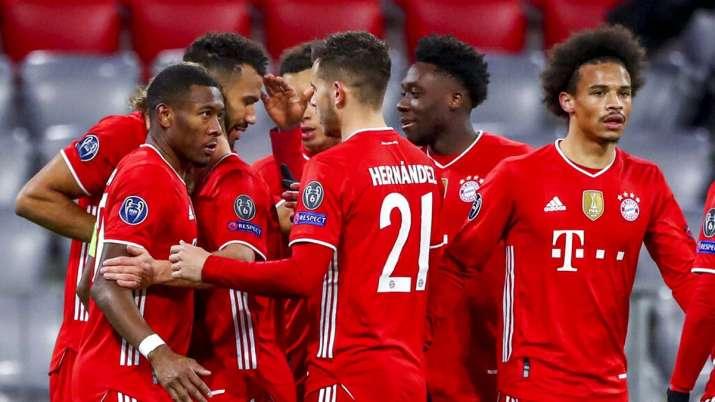 bayern munich, champions league, lazio, robert lewandoski