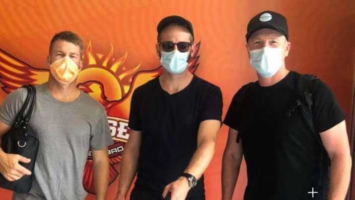 IPL 2021: David Warner, Kane Williamson land in Chennai to join Sunrisers Hyderabad camp