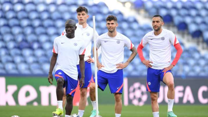 Chelsea duo Mendy, Kante set to be fit for CL final