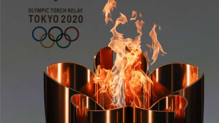 Tokyo Olympic torch relay wraps up in Chiba off-road due to COVID-19 restrictions