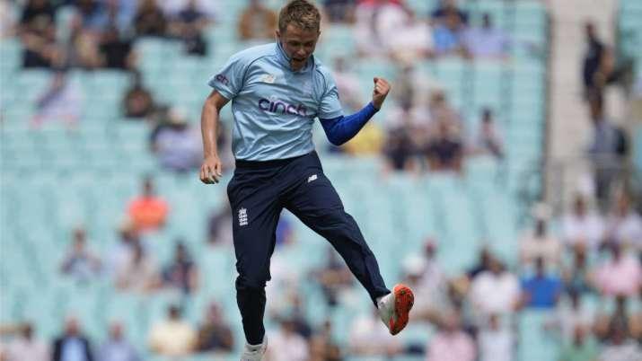 England's Sam Curran