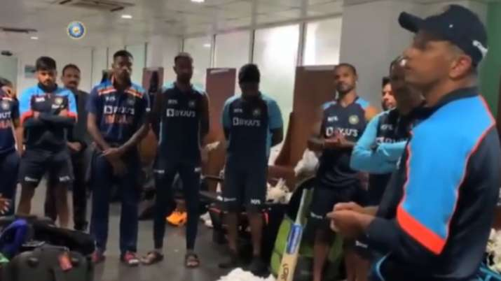 SL vs IND | 'We responded like a champion team': Rahul Dravid's speech in dressing room after 2nd OD