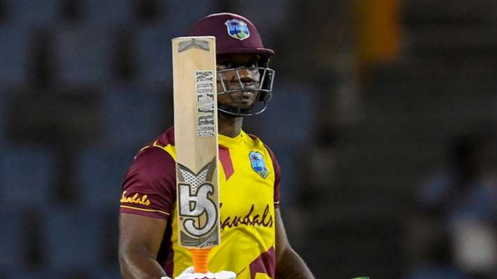 WI vs AUS: Evin Lewis shines as West Indies beat Australia by 16 runs; clinch series 4-1