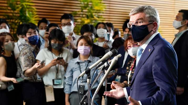 Tokyo Olympics   IOC's Thomas Bach brings attention to Hiroshima -- some unwanted