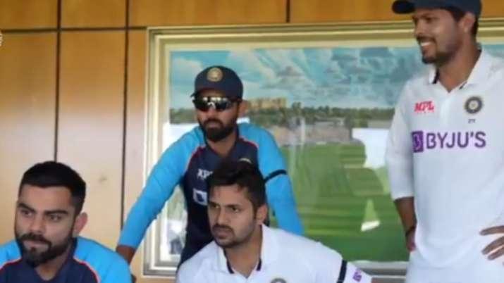 Watch: Indian Test squad celebrates ODI side's terrific win over Sri Lanka in second game