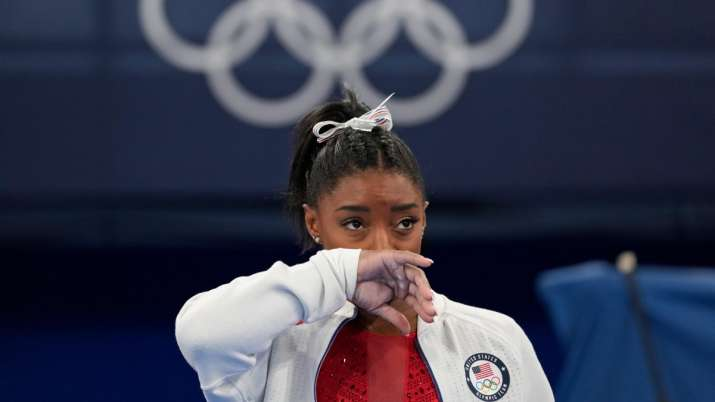 'I was shaking, could barely nap': For Simone Biles, it finally becomes too much