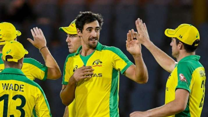 WI vs AUS 1st ODI | Mitchell Starc takes five wickets as Australia beat West Indies by 133 runs
