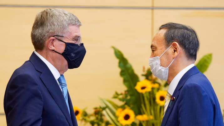 Thomas Bach meets Japan PM Yoshihide Suga as Tokyo virus cases approach 6-month high