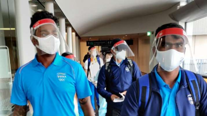 First batch of Indian contingent reaches Tokyo after rousing send-off