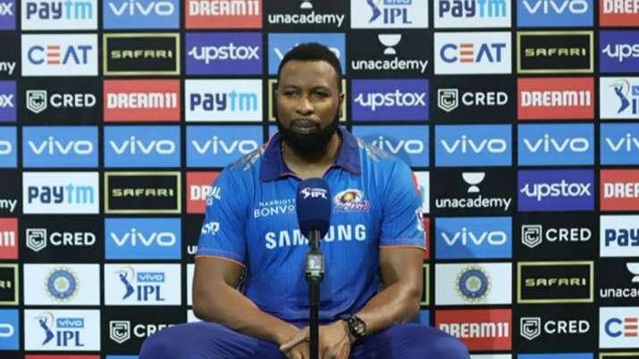 IPL 2021: PBKS vs MI - Kieron Pollard says IPL sole focus, T20 World Cup 'irrelevant at this point'