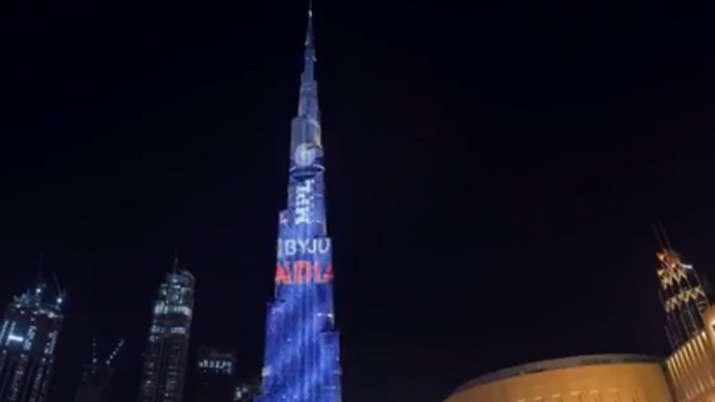 Team India's T20 World Cup jersey displayed on Burj Khalifa; Watch Video